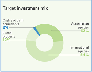 Focus High Growth Fund Pie Graph